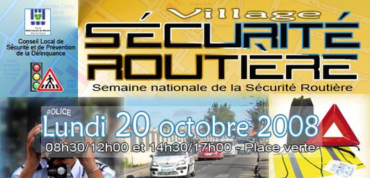 Village Sécurité routière : sensibilisons nos jeunes