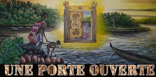 'Une porte ouverte' de Joseph AMETE