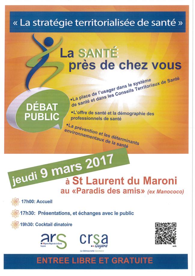 L'ARS communique : débat public autour des questions de santé
