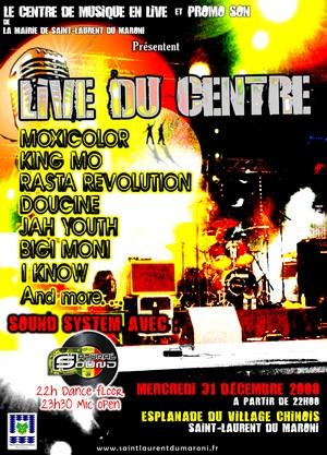 """Le Centre Communal de Musiques en Live vous invite à son """"Live du Centre"""""""