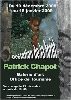Patrick CHAPOT et ses sculptures