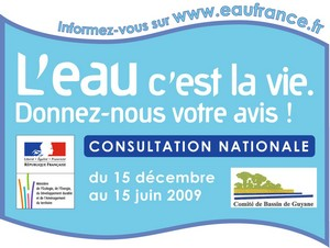 Consultation publique du SDAGE