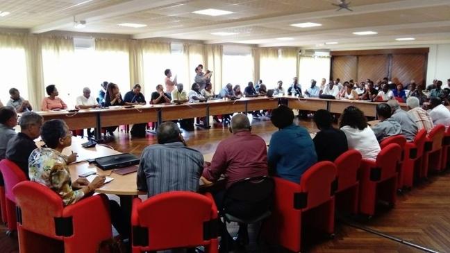 Manifestations  : tous unis pour la Guyane