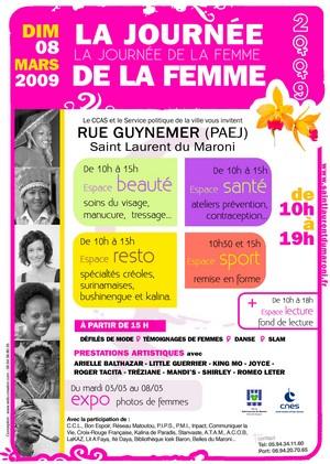 Dimanche 08 Mars : Les femmes sont à l'honneur à la rue Guynemer