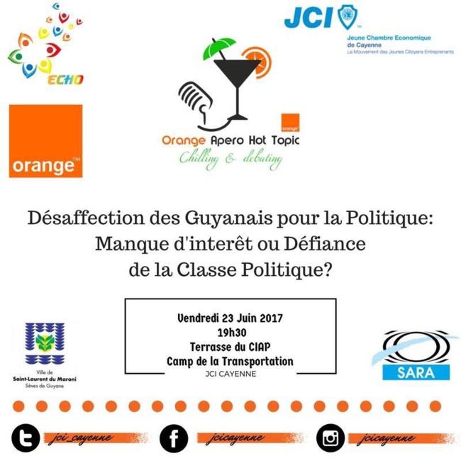 Participez à l'apéro-débat de la JCI le 23 juin !