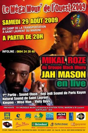 Le Méga Mouv de l'Ouest : le rendez-vous reggae de cette fin de vacances