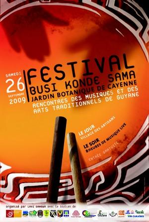 2ème édition du Festival Busi Konde Sama au Jardin botanique de Cayenne