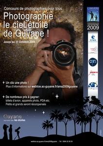 """Le Comité AMA Guyane organise un concours intitulé """"Photographie le ciel étoilé de Guyane"""