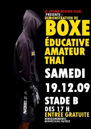 Rencontre de Boxe Educative Amateur Thaï au stade B