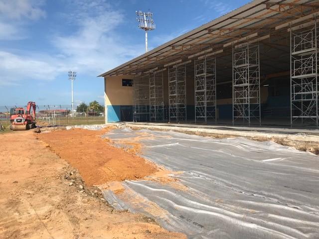 Travaux d 39 extension au gymnase municipal maximin noel for Extension travaux