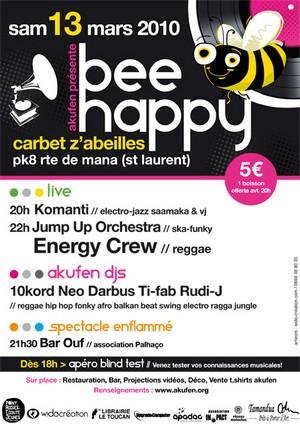 Bee happy avec Akufen