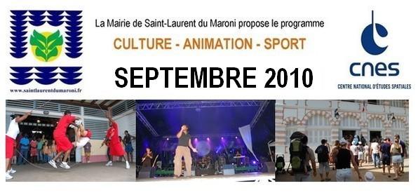 """La programmation """"Culture - Animation - Sport"""" de la ville"""