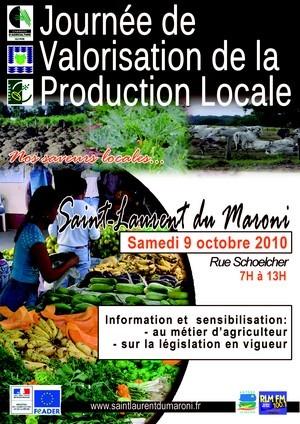 Journée de valorisation de la production locale - Sam 9 oct 2010