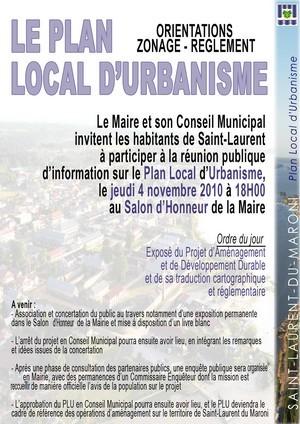 Le plan Local d'Urbanisme: Orientations-Zonage-Réglement