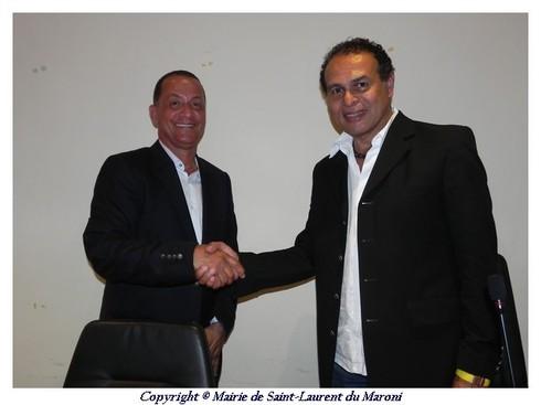 La Région apporte son soutien financier à la ville de Saint-Laurent du Maroni