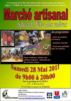 Le Marché artisanal spécial Fête des mères de l'Office de Tourisme