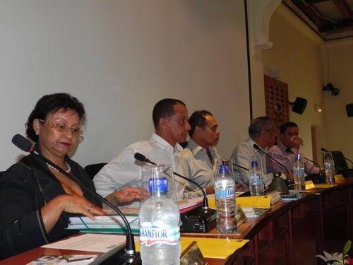 Le Conseil Régional a organisé pour la 1ère fois, une assemblée plénière à la Mairie de Saint-Laurent du Maroni
