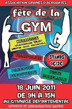La fête de la gym avec Graines d'acrobates