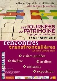 Rencontre transfrontalière Patrimoines partagés Brésil Guyane Suriname