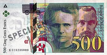 Echangez vos francs contre des euros jusqu'au 17 février 2012.