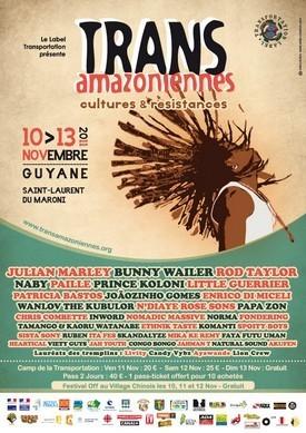 6ème Festival des TransAmazoniennes du 10 au 13 novembre à St-Laurent