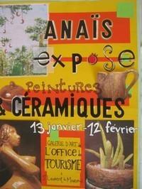 Exposition Anais BOIRAL.