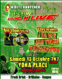 It's time SOUND N LIVE