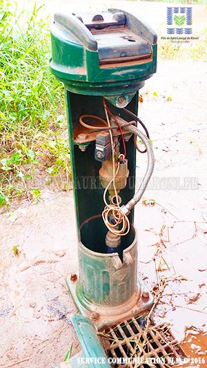 vandalisme des bornes fontaines