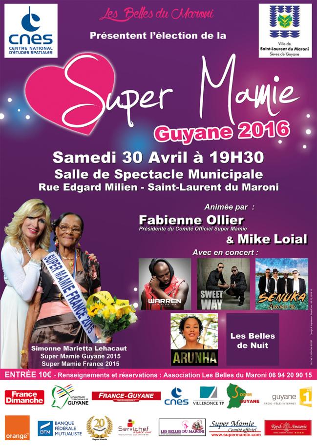ELECTION SUPER MAMIE GUYANE 2016