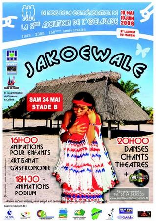 Jakoewale, la soirée amérindienne