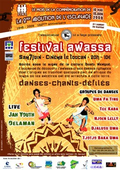 L'awassa a son festival porté par l'association Lit a Faya