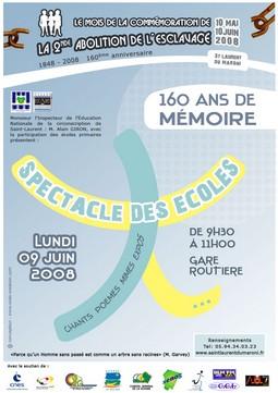 160 ans de mémoire expliqués par les élémentaires de Saint-Laurent du Maroni