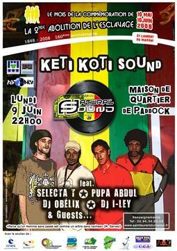 Keti koti sound avec l'association Pad'Race