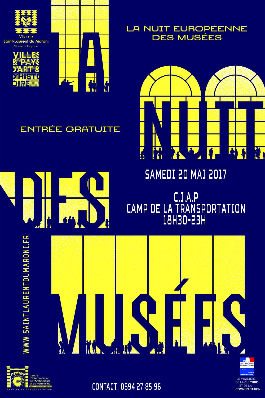 Le 20 mai venez participer à la Nuit des Musées !