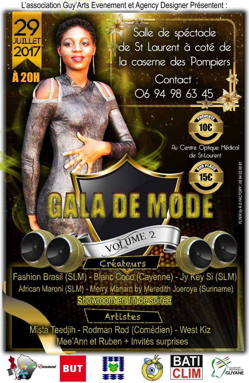 Save the date : le 29 juilllet venez assister au gala de mode de Saint-Laurent !