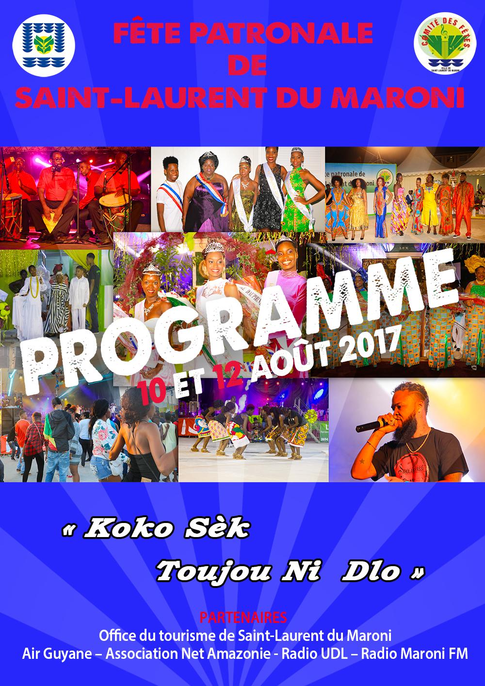 Programme de la Fête patronale 2017