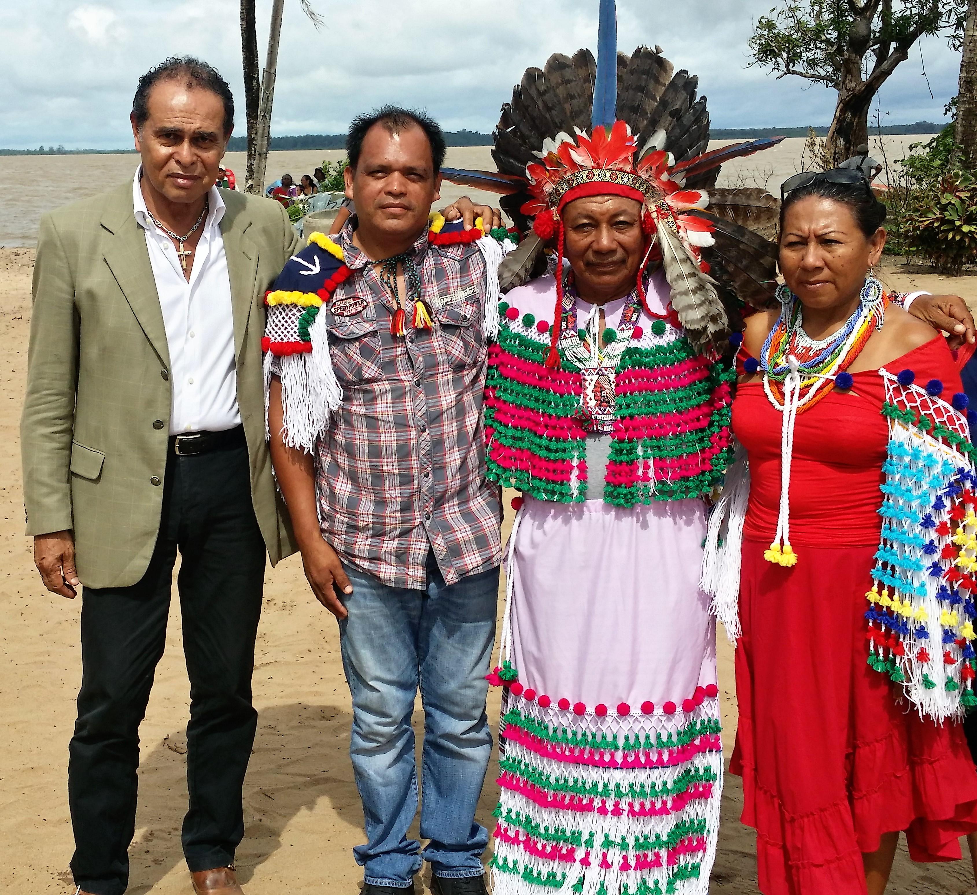 Journée des peuples Autochtones de Guyane : position de Léon BERTRAND