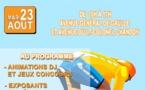 Tour de Guyane : mardi 23 août - arrivée de l'étape Sinnamary-Saint-laurent et Espace Animations du Tour