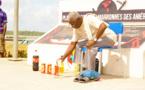 Journées de la culture bushinenge : prière traditionnelle d'ouverture de la manifestation