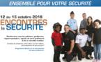 Samedi 15 octobre : rencontres de la sécurité 2016