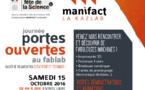Fête de la science : le samedi 15 octobre venez découvrir de fabuleuses machines au Fablab !