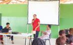 Réunion publique à l'école Paul Castaing - Quartier des Sables Blancs