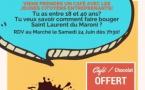Pause café avec les Jeunes citoyens entreprenants de Saint-Laurent le 24 juin