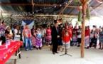 Intronisation du nouveau chef coutumier du village Prospérité