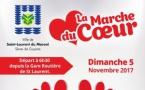 Le dimanche 05 novembre, ne ratez pas la Marche du coeur ! A vos baskets !