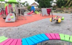 Travaux d'aménagement de l'aire de jeux située près du fleuve