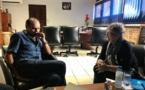 Projet Montagne d'or : rencontre de Léon Bertrand avec avec la Commission du débat Public