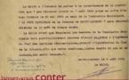 Avis sur la fête patronale de 1938