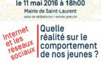 """Conférence/débat """"EDUQUER A L'INTERNET RESPONSABLE """""""