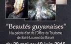 """Exposition """"Beautés guyanaises"""" de Grégory DEZIR du 20 mai au 19 juin à l'Office de Tourisme"""